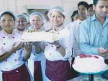A cake made by Students