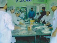 Students are making a cake - 2